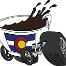 Cup On Wheels Logo by COCarsAndCoffee