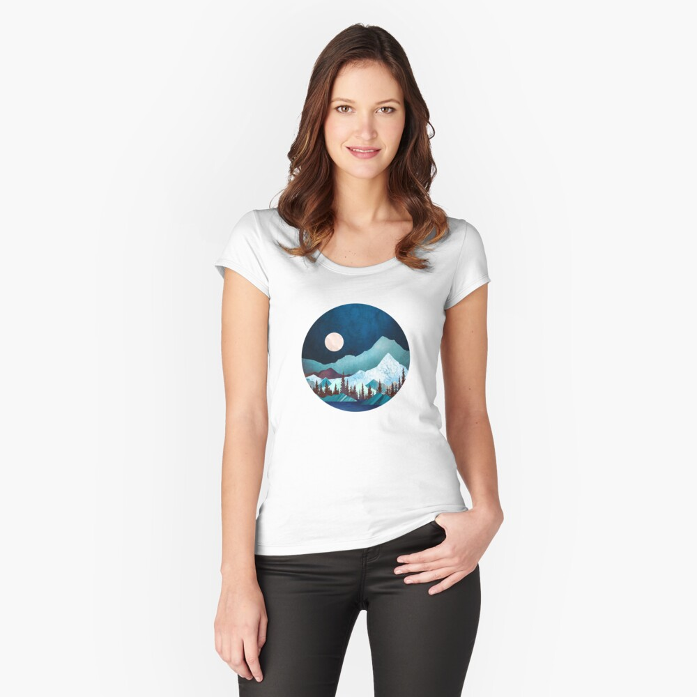 Moon Bay Fitted Scoop T-Shirt