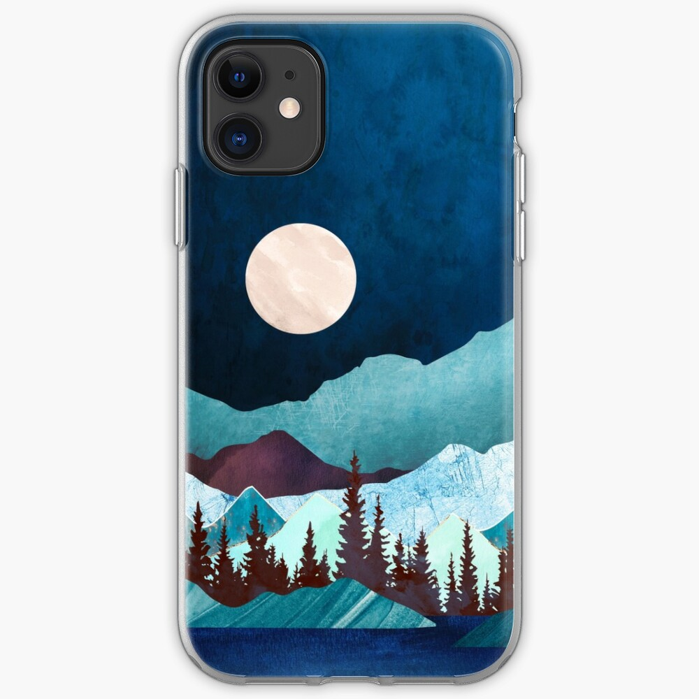 Moon Bay iPhone Case & Cover