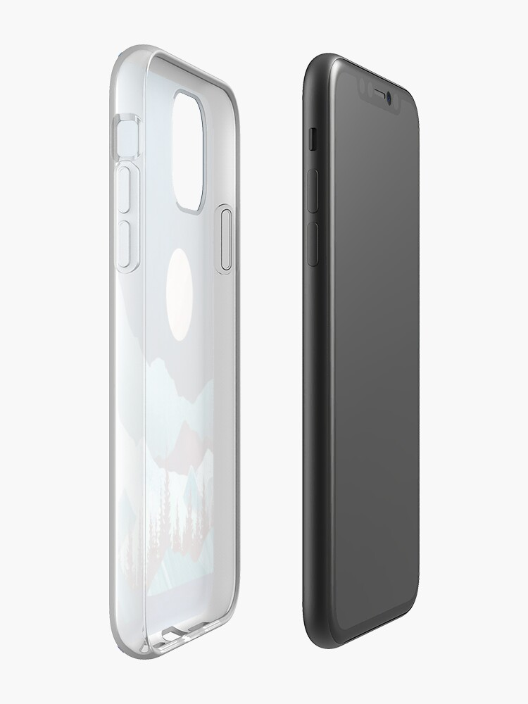 Alternate view of Moon Bay iPhone Case & Cover