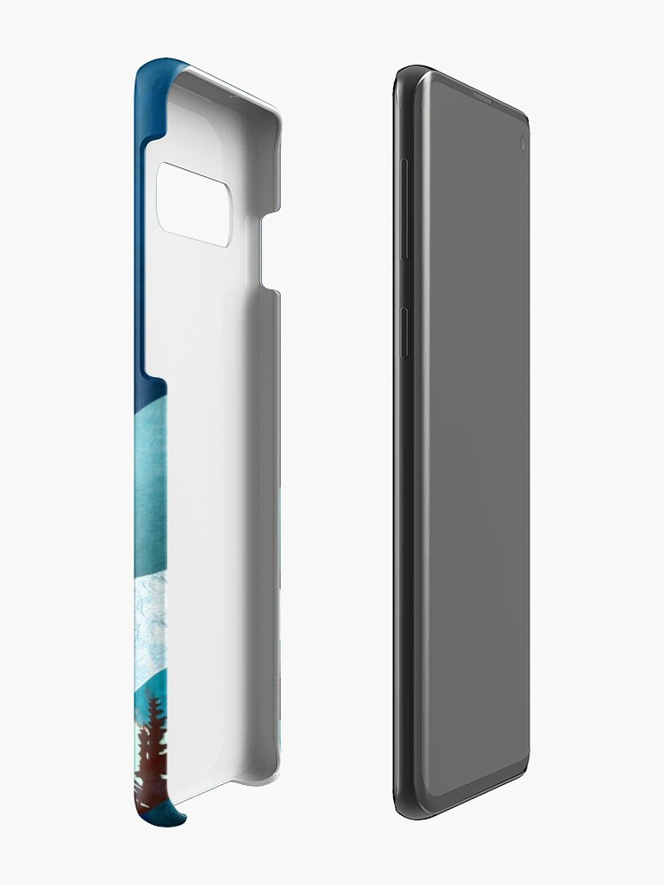 Alternate view of Moon Bay Case & Skin for Samsung Galaxy