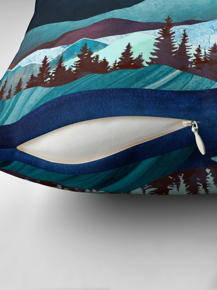 Alternate view of Moon Bay Throw Pillow