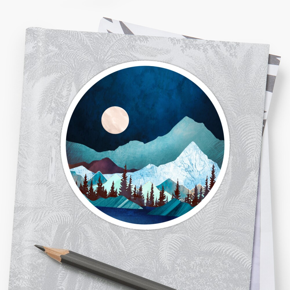 Moon Bay Stickers