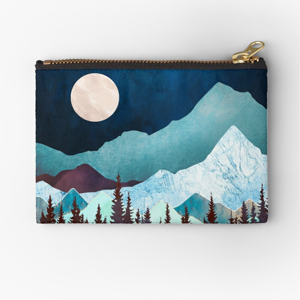 Moon Bay Zipper Pouch