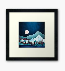Moon Bay Framed Print