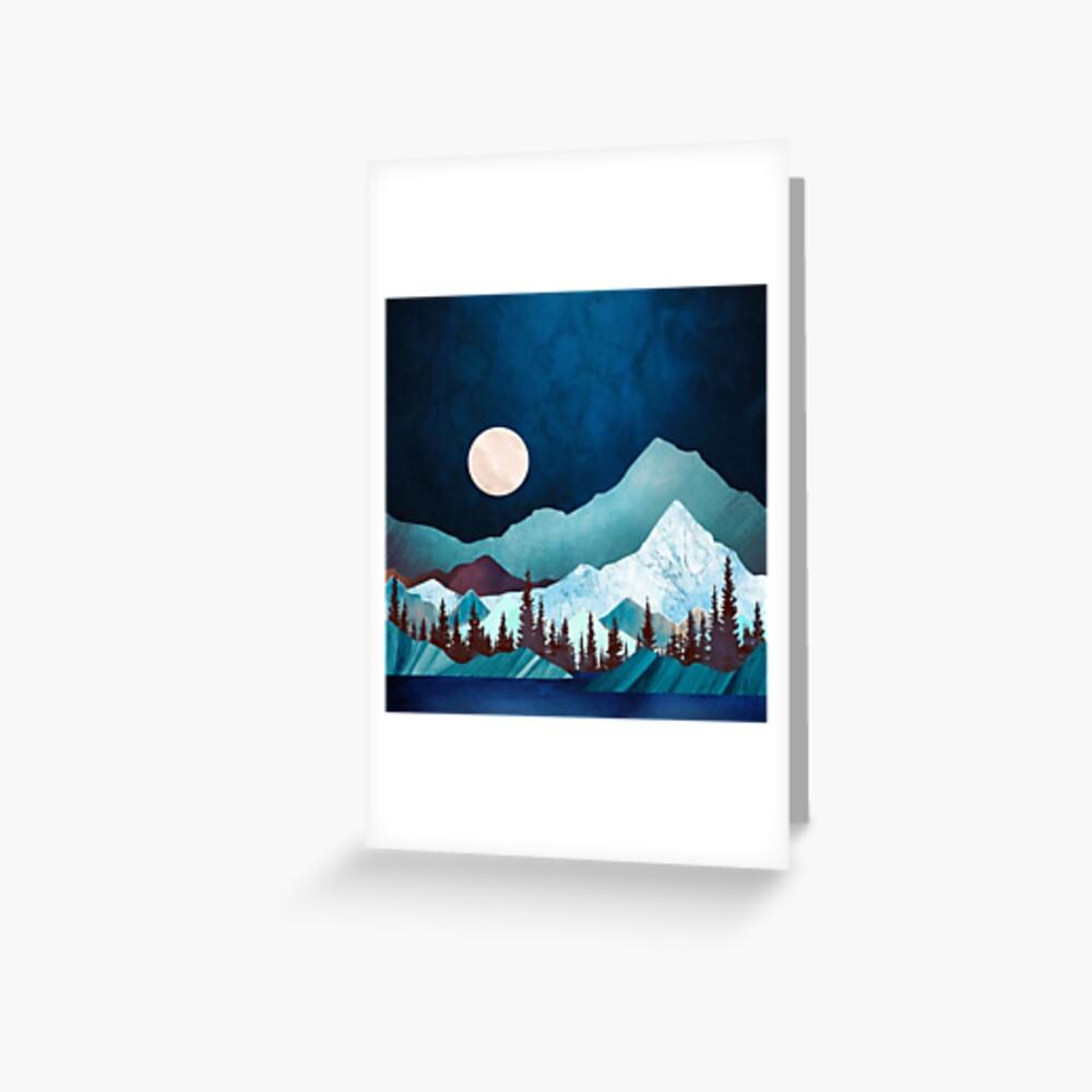 Moon Bay Greeting Card