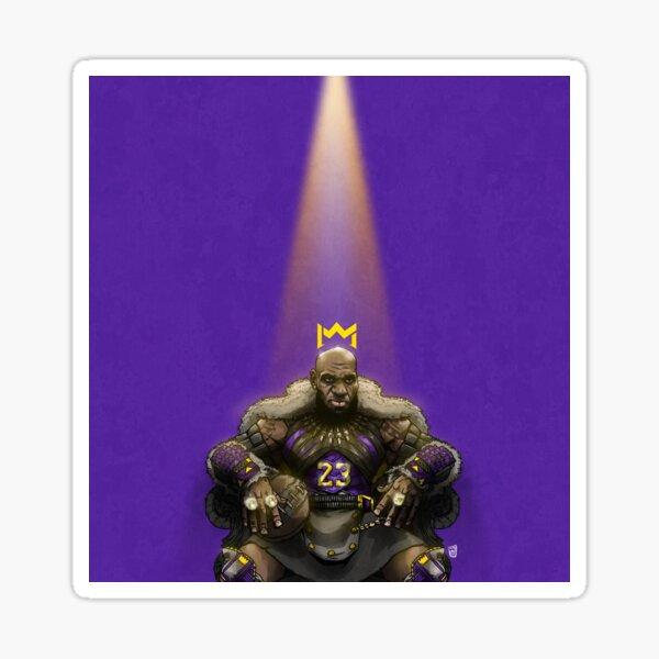 In The SpotLight - LAbron (purple) Sticker