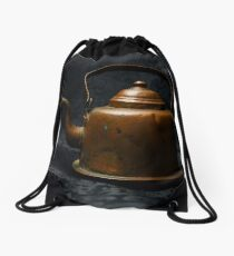 The Pot Can't Always Call The Kettle Black Drawstring Bag