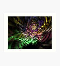 Spiral Rainbow Art Print