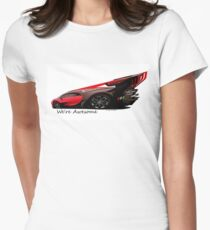 Super Car Art #14 We're Awesome  Women's Fitted T-Shirt