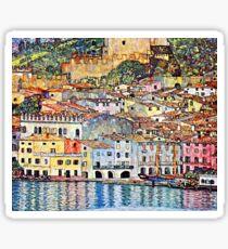 Gustav Klimt Malcesine on Lake Garda Sticker