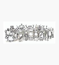 Many Robots. Photographic Print