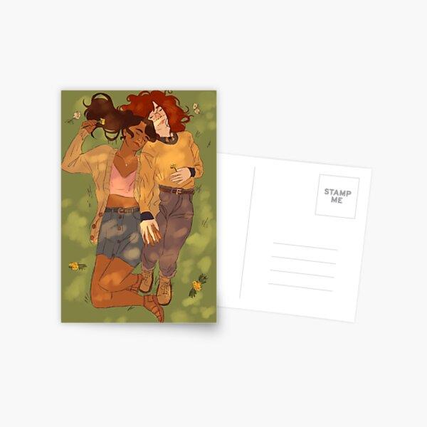 hold hands Postcard