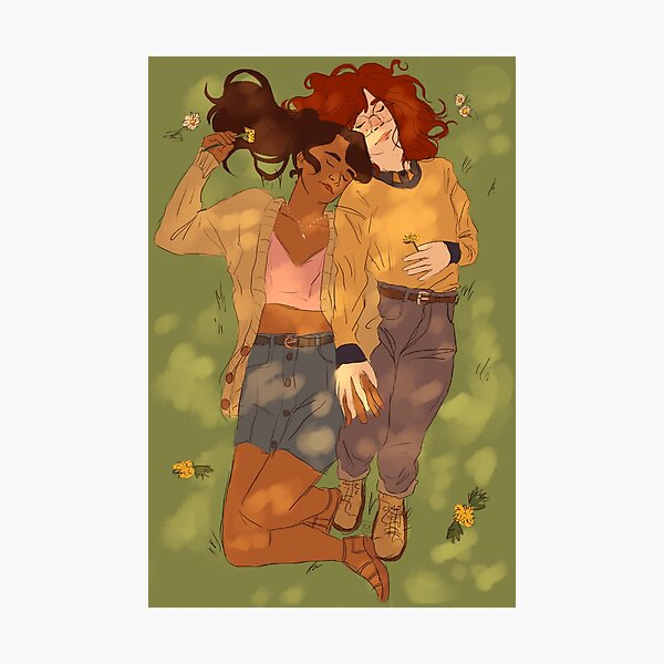 hold hands Photographic Print