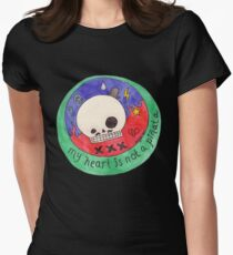My heart is not a Pinata Womens Fitted T-Shirt