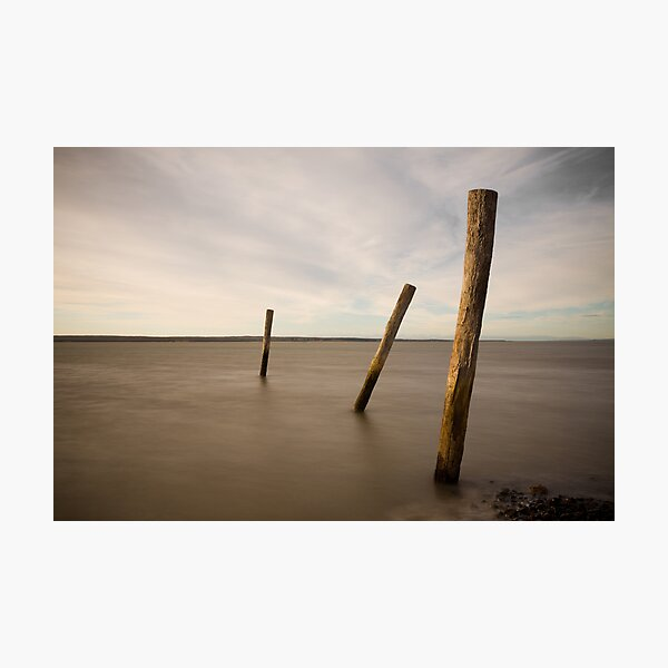 poles in time Photographic Print