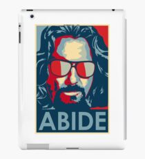Abide - The big lebowski - Obama iPad Case/Skin