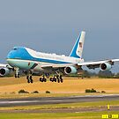 Air Force One B747 by derekbeattie