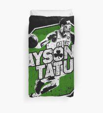 Jayson Tatum Duvet Cover