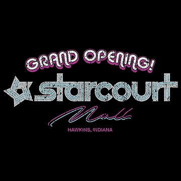 Starcourt Mall Grand Opening! by huckblade