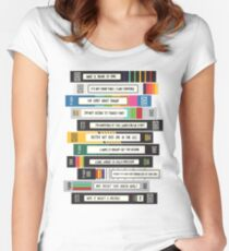 Brooklyn Nine-Nine Sex Tapes Women's Fitted Scoop T-Shirt