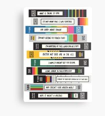 Brooklyn Nine-Nine Sex Tapes Metal Print