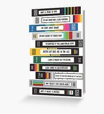 Brooklyn Nine-Nine Sex Tapes Greeting Card