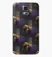 Robber Fly Preys on Honey Bee Case/Skin for Samsung Galaxy