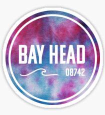 Bay Head - Tie Dye  Sticker