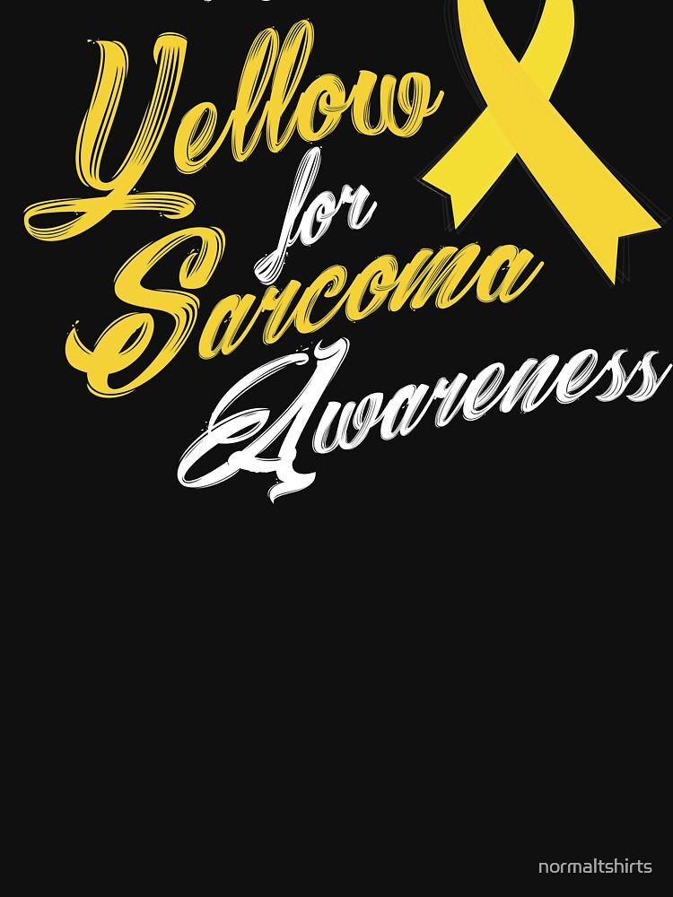 Sarcoma Awareness Shirt04 01 by normaltshirts