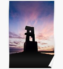 Sunset at Hallsteinshöfða #1 Poster