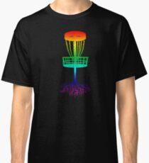 Disc Golf Rainbow Frolf Classic T-Shirt