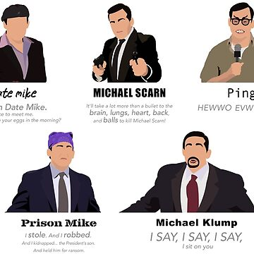 Las caras de Michael Scott de datfishcray