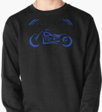 Grandpa Biker Fathers Day Motorcycle Pullover