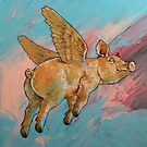 Flying Pig by Michael Creese