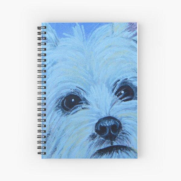 Westie Spiral Notebook