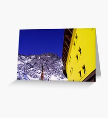 Nature and Architecture Greeting Card