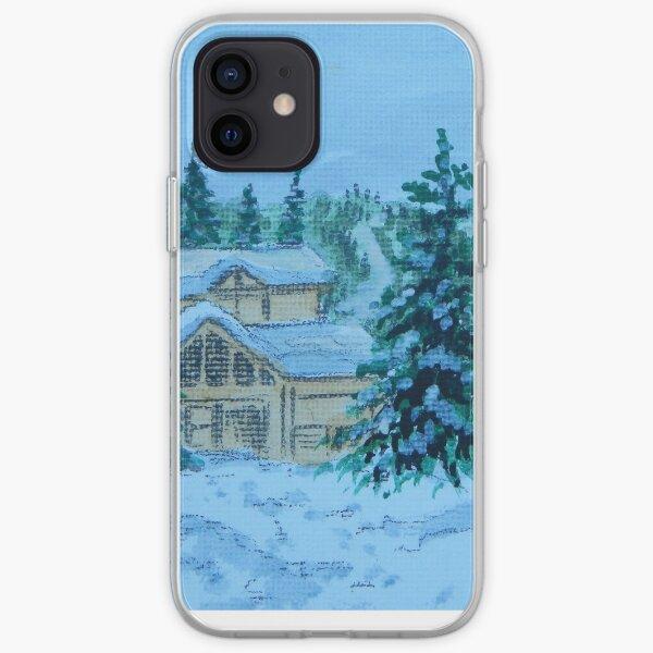 Canadian Snow Scene 2 iPhone Soft Case