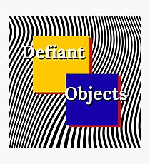 defiant objects Photographic Print