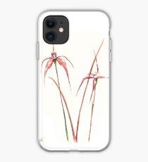 Australian Spider Orchids iPhone Case
