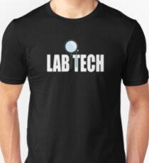 Lab Tech Medical Lab Technologist Test Tube Design Unisex T-Shirt