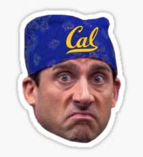 University of California Berkeley Cal Prison Mike The Office Bandana Sticker