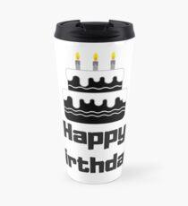 Happy Birthday Celebration Travel Mug