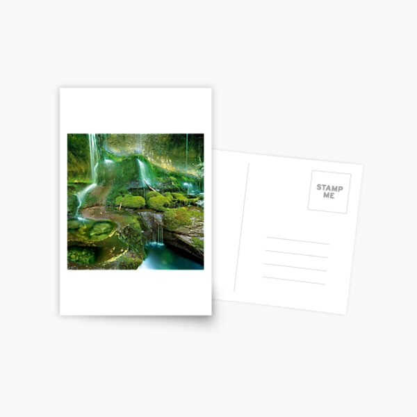 Mossy cascades, Walls of Jerusalem Postcard