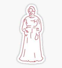 Lydia Moss Bradley Sticker