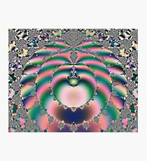 Silk Spirals Photographic Print