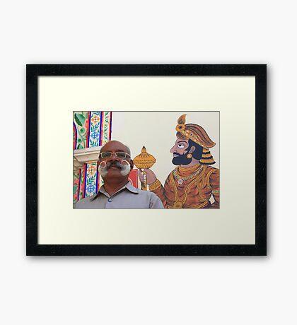 Moustache - 2 Framed Print