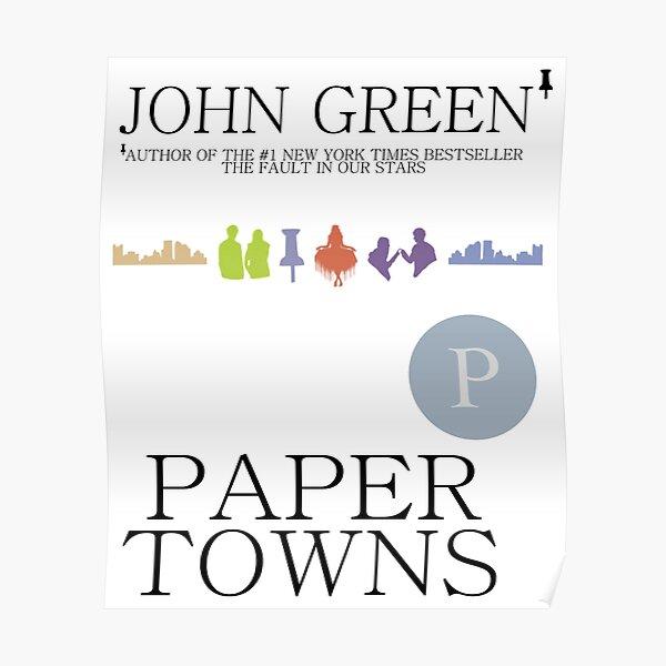 An Abundance of Paper Towns Poster