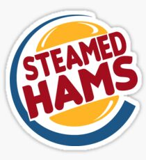 Steamed Hams tshirt Sticker
