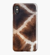 Giraffe Animal Safari Zoo iPhone Case